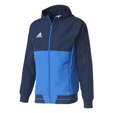 TIRO 17 PRE JACKET Adidas, blau